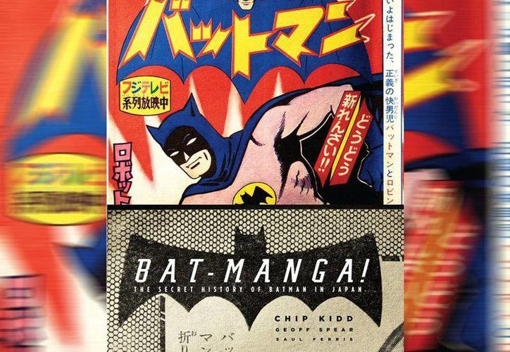 La historieta de Batman fue originalmente publicada en Japón durante la fiebre que la teleserie del personaje desató a mediados de los 60. (AP)