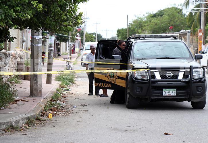 El acusado disparo con arma de fuero a su 'rival de amores' luego de tener una discusión minutos antes. (SIPSE)