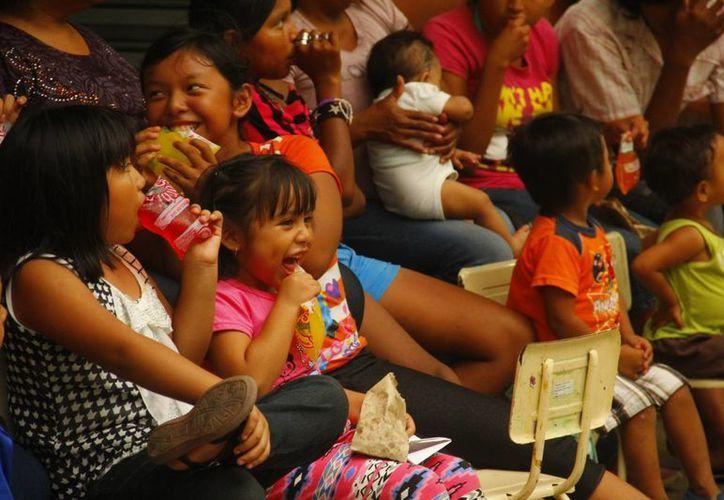 Según datos del Inegi, más del 70 por ciento de los mayahablantes viven en condiciones de pobreza. (Juan Alborboz/SIPSE)