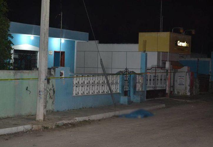 En Kanasín un joven falleció tras querer asaltar a dos personas. (Milenio Novedades)