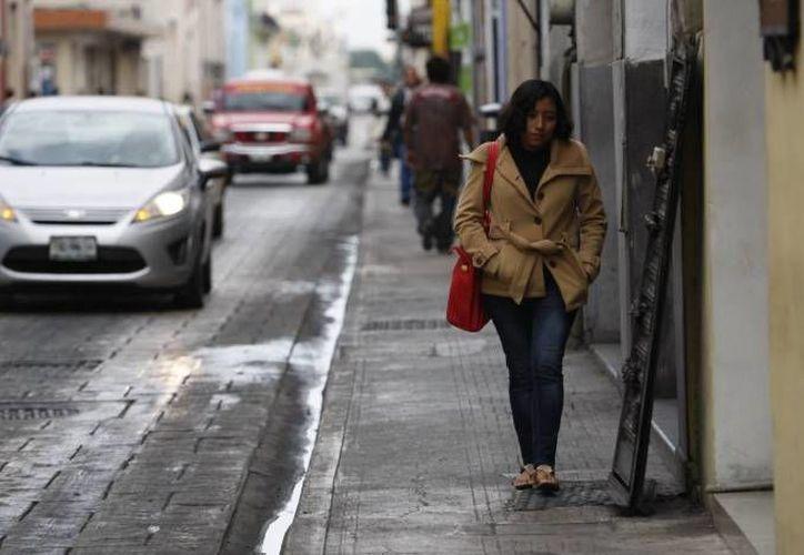 La temperatura en Yucatán podría bajar este sábado a los 16 grados, en parte debido a un efecto de 'Norte'. (SIPSE)