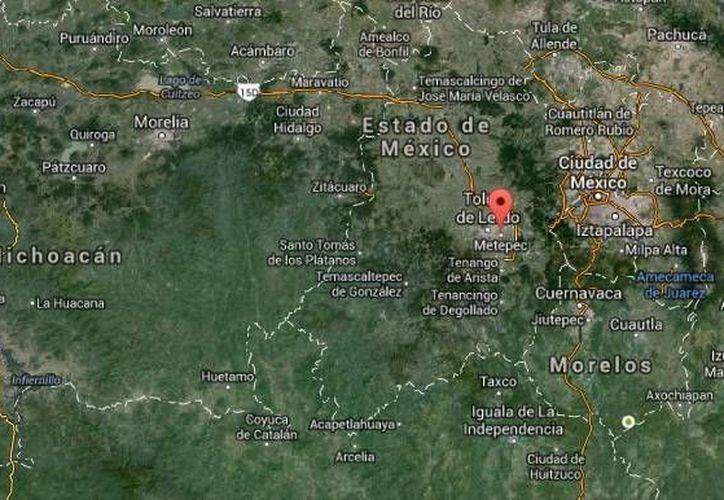Gabriel Méndez Maceda y Jonathan Osorio Flores son los policías de Metepec arrestados por secuestro. (Google Maps)