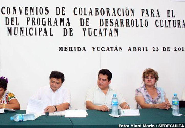En el evento estuvieron presentes los alcaldes y autoridades estatales. (Milenio Novedades)