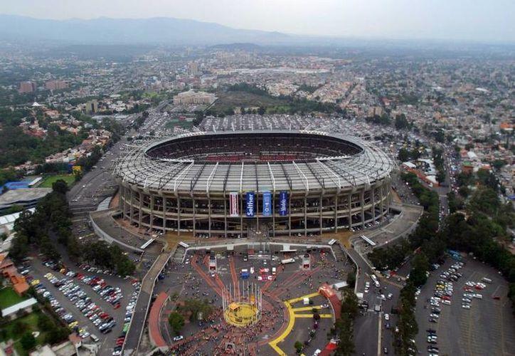 El Estadio Azteca, una obra maestra del extinto arquitecto. (Archivo/Notimex)