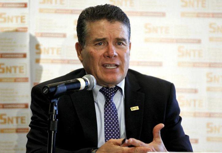Díaz de la Torre dijo que los días de paro de la CNTE suma el equivalente a un ciclo escolar. (Notimex)