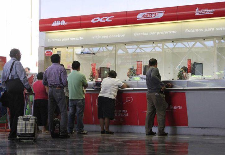 La empresa Autobuses De Oriente (ADO) en Chetumal iniciará la construcción de la terminal autosustentable en 2015. (Harold Alcocer/SIPSE)