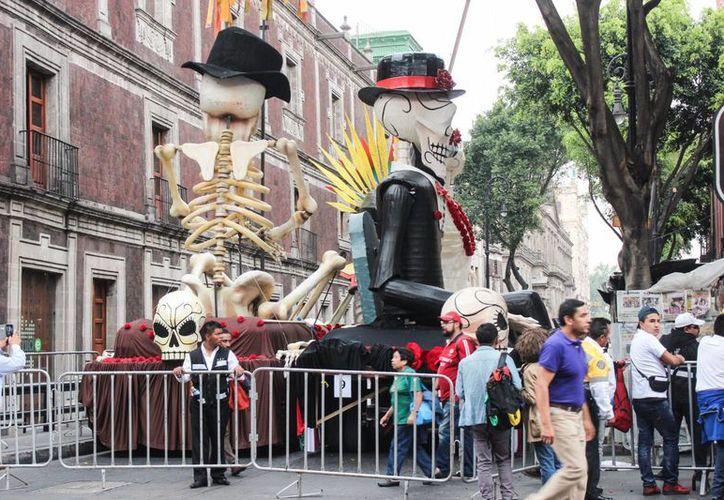 Una de las escenas de 'Spectre' que se rodaron en México. (Notimex)