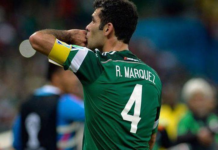 El defensa Rafael Márquez, capitán del Tri en el último mundial, regresa a la Selección. La imagen es de archivo. (NTX)