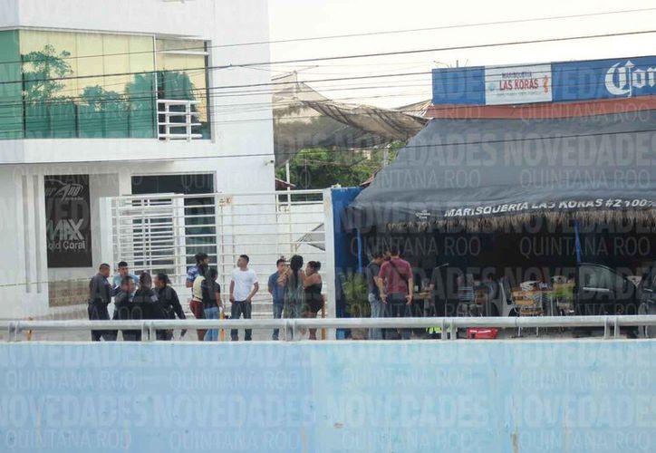 El agraviado fue ejecutado en un restaurante que se ubica en la entrada a Bonfil. (Redacción/SIPSE)