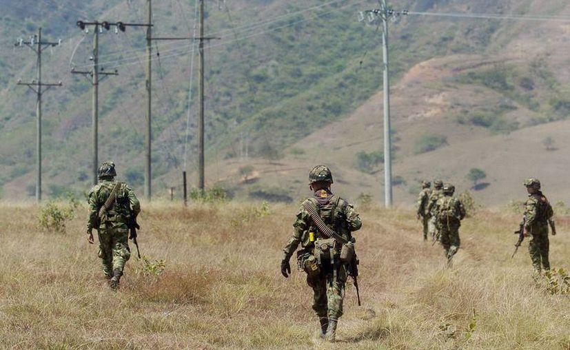 Hasta el momento, las FARC han perdido 58 hombres. (EFE)