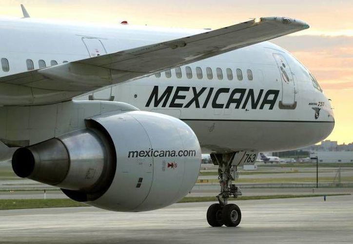 Mexicana aún es objeto de un concurso mercantil, después de tres años de suspender labores. (Agencias/Archivo)
