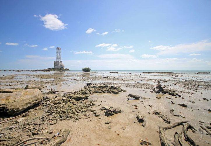 El fenómeno se pudo observar principalmente en el área donde se localiza el Monumento al Mestizaje. (Juan Palma/SIPSE)