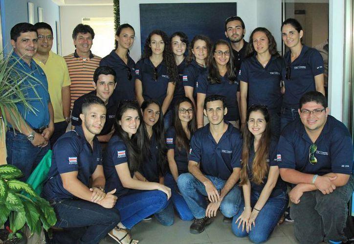 Los estudiantes llegaron a la ciudad como parte de un proyecto académico. (Jesús Tijerina/SIPSE)