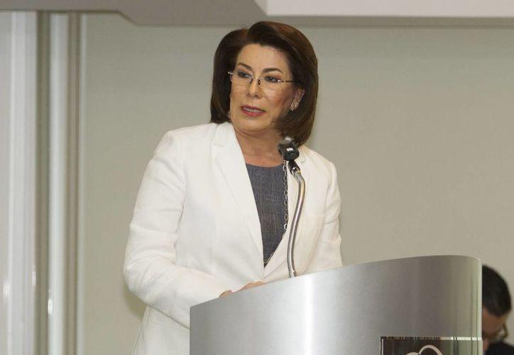Lorena Martínez Rodríguez, anunció que al finalizar diciembre dejará el cargo como titular de la Procuraduría Federal del Consumidor (Profeco). (Archivo/Notimex)