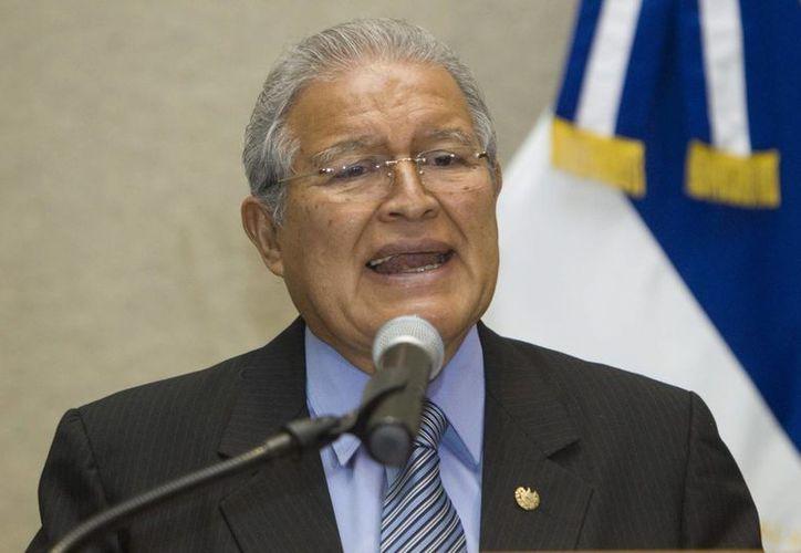 Sánchez Cerén es el primer mandatario de izquierda en el país centroamericano. (EFE)