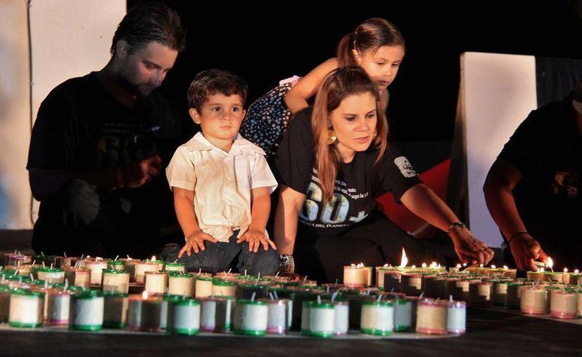El evento ha sumado ya siete mil ciudades en 152 países que apagan luces y motores. (Gustavo Villegas/SIPSE)