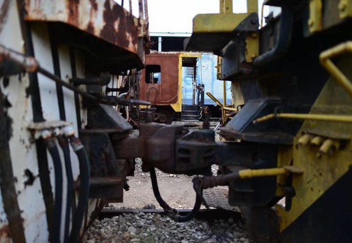 Los trenes han dejado de ser el principal transporte.
