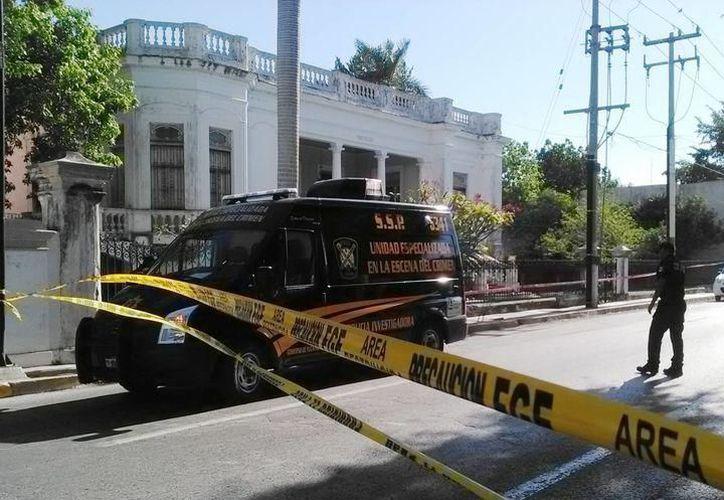 En esta antigua residencia de la avenida Colón ocurrió el doble homicidio. (Archivo/Milenio Novedades)