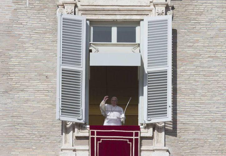 El Papa anunció su aprecio por todas las organizaciones que abogan por la vida humana. (AP)
