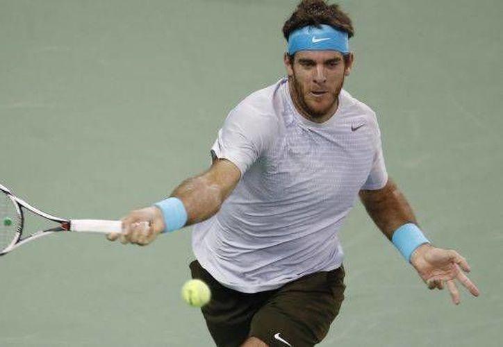 Juan Martín del Potro, cabeza de serie de la ATP y campeón defensor, derrotó 6-2, 7-6 (2) al francés Paul-Henri Mathieu. (Agencias)