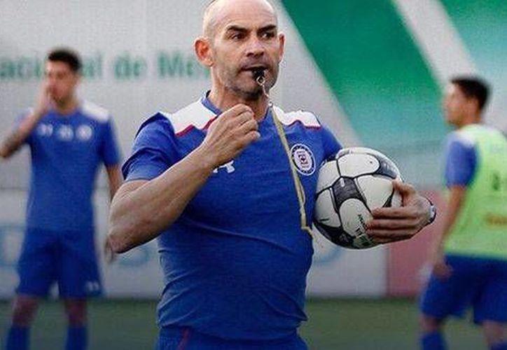 El Cruz Azul con Paco Jémez suma 4 unidades tras haber dirigido tres partidos de la Liga MX y uno más en la Copa.(Foto tomada de Facebook/Cruz Azul)