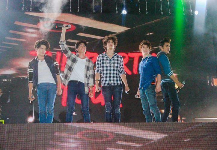 Alan, Jos, Bryan, Alonso y Freddy se reunirán con sus fanáticos el próximo 19 de abril. (Archivo/Notimex)