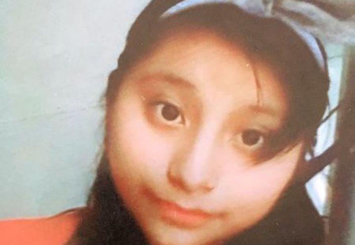 La adolescente Floricely Anahí Uh Dzib. (Cortesía)