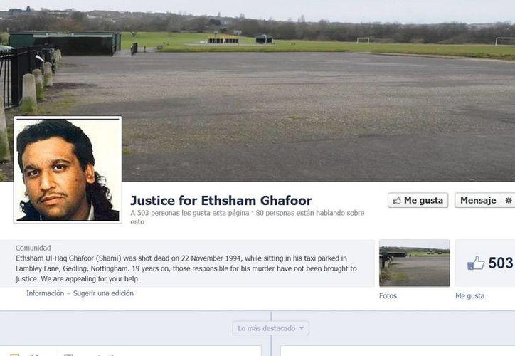 La página Justice for Ethsham Ghafoor fue creada por su familia con la intención de resolver su asesinato. (Facebook oficial)