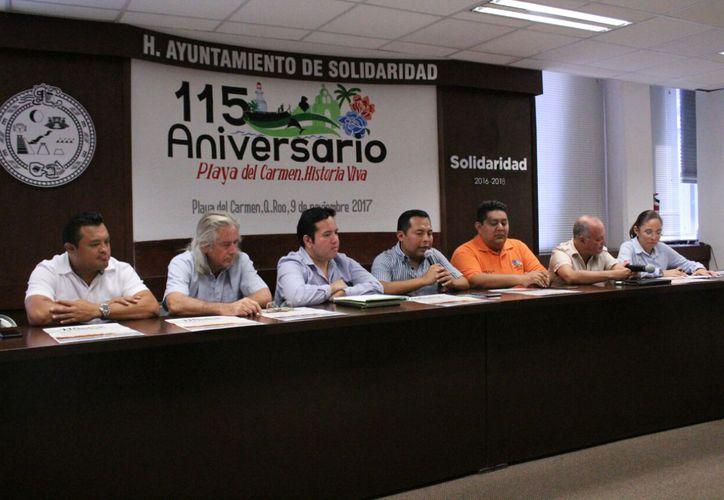 Dieron a conocer las actividades que se desarrollarán durante el programa. (Octavio Martínez/SIPSE)