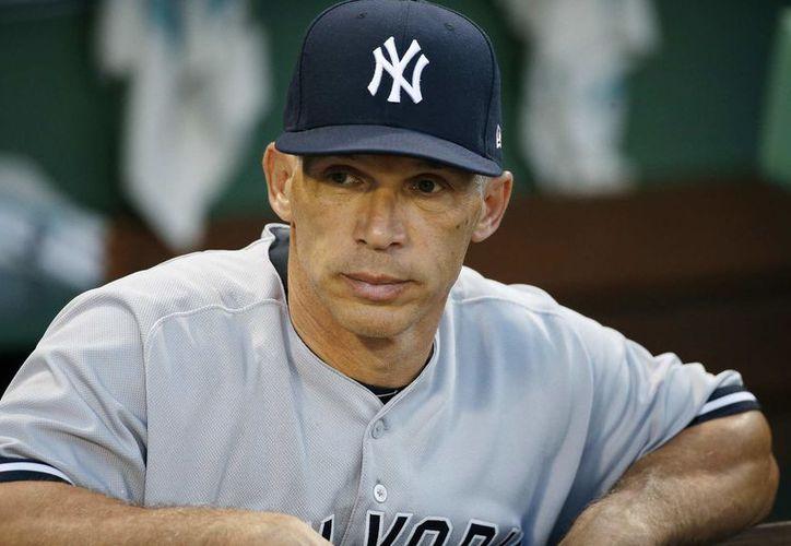 Girardi se hizo cargo de los Yankees en 2008. (Contexto)