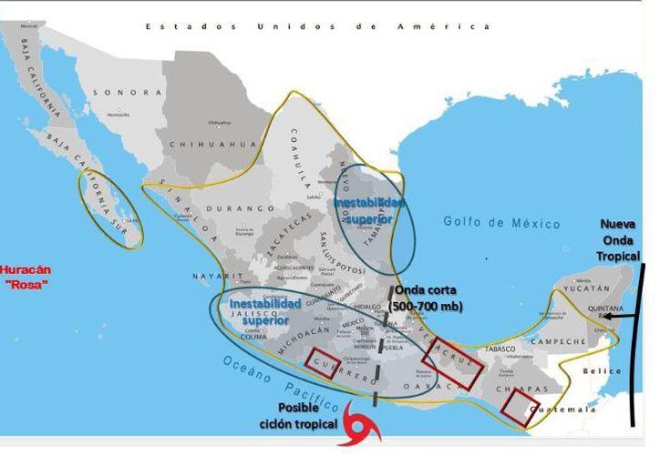 En Chetumal se pronostica que haya un día soleado durante la mañana. (SMN)