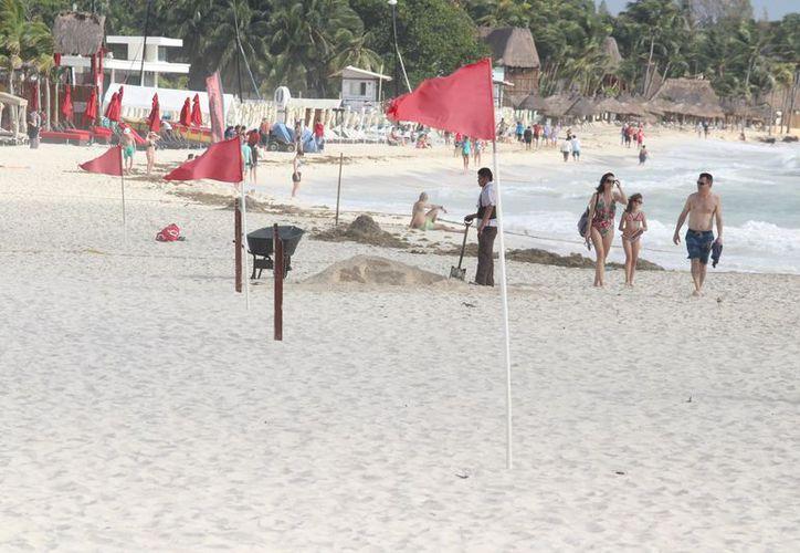 Realizarán obras para tratar de reducir la pérdida de arenales. (Adrián Barreto/SIPSE)