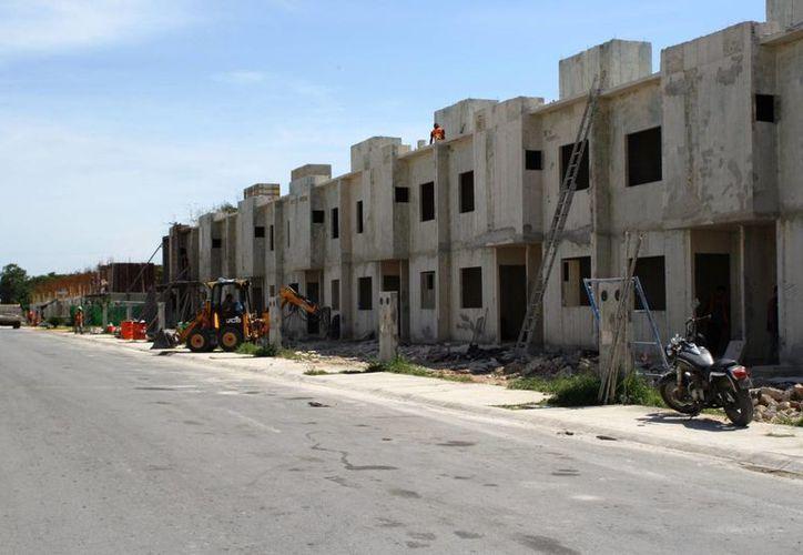 La empresa Vivo Desarrollo Sapi para la edificación de casas en un área de 23 hectáreas. (Octavio Martínez/SIPSE)