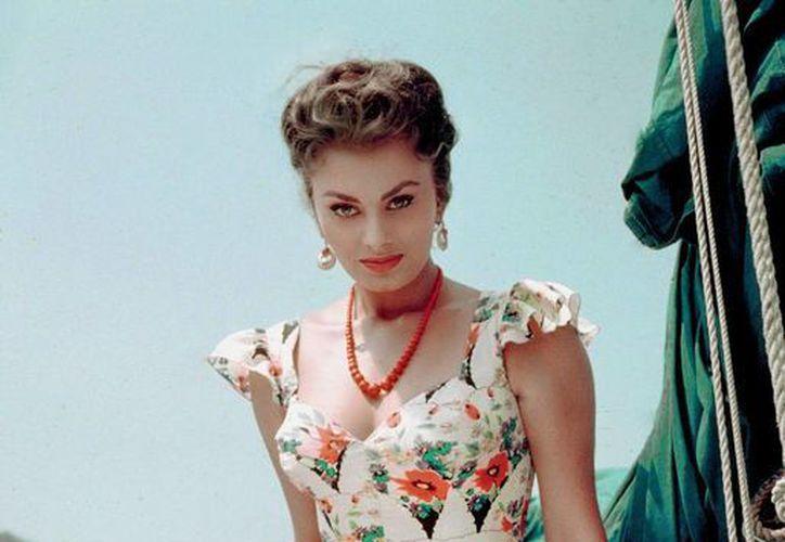 La actriz italiana Sophia Loren es inspiración de la nueva propuesta de 'Vulcano'. (Contexto/Internet)