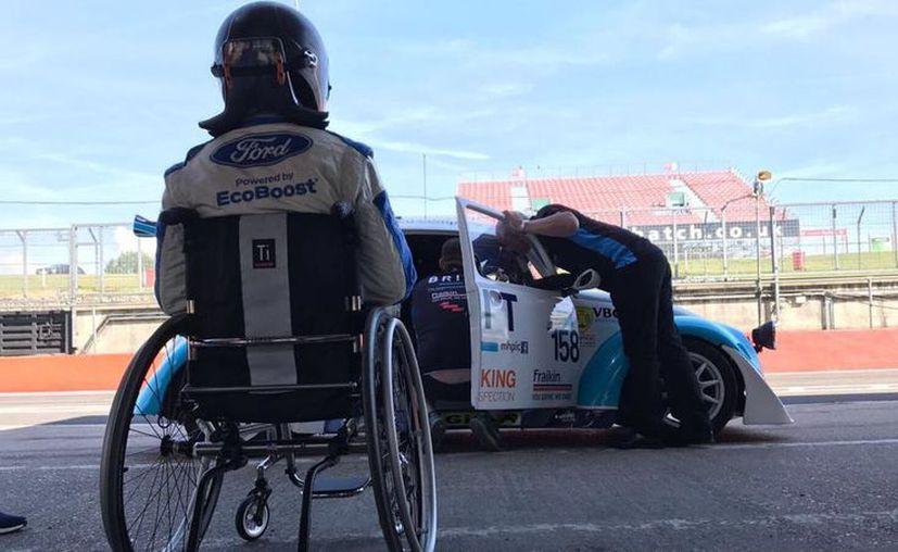 La meta de Monger es participar en las 24 Horas de Le Mans en 2020. (Twitter Billy Monguer)