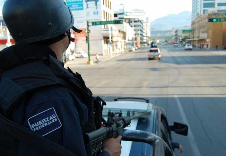 Fuerzas federales detuvieron a los directores de Seguridad Pública y fueron llevados a la Ciudad de México. (Archivo SIPSE)