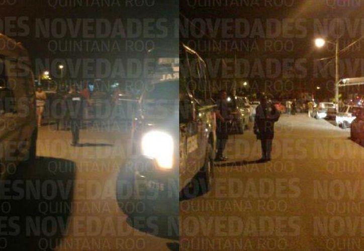 En los dos altercados, los responsables lograron darse a la fuga. (Foto: Pedro Olive/SIPSE).