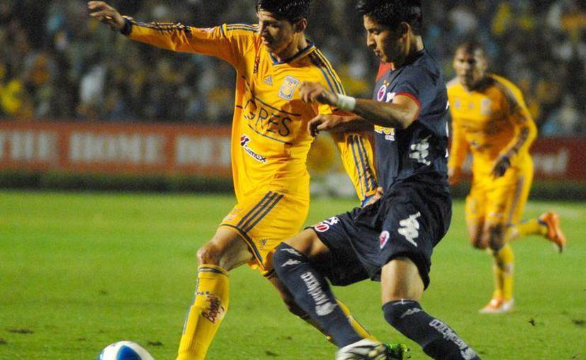 Tigres venció con relativa facilidad a Veracruz en una de las semifinales de la Copa MX. (Notimex)
