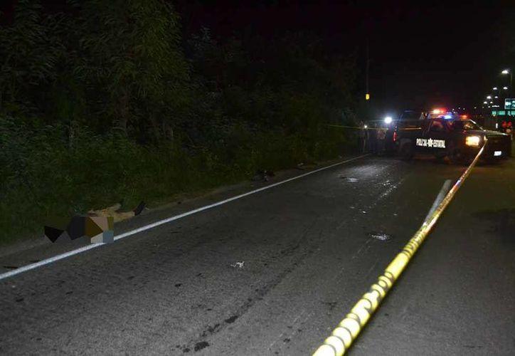 Un vehículo 'fantasma' le quitó la vida sobre la carretera Chetumal- Bacalar. (Redacción/SIPSE)