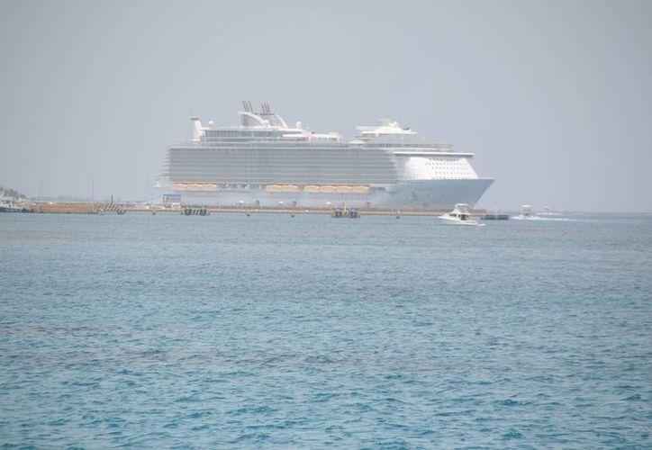 Se tiene programado el arribo de dos cruceros. (Julián Miranda/SIPSE)