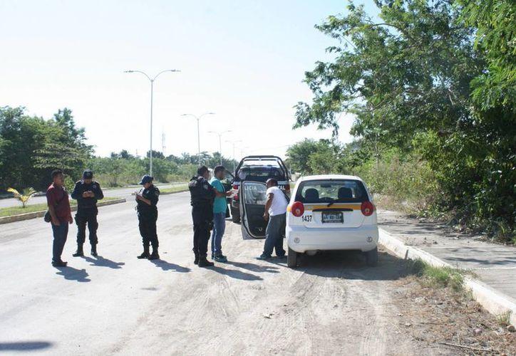 Un taxista fue asaltado por uno de sus pasajeros que le hizo la parada en la colonia Nuevo Progreso de Chetumal. (Redacción/SIPSE)