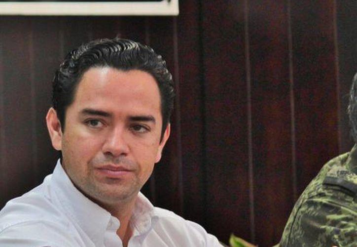 José Luis Toledo Medina, presidente del Congreso del Estado ha visitado Cozumel  en varias ocasiones en los últimos meses. (Gustavo Villegas/SIPSE)