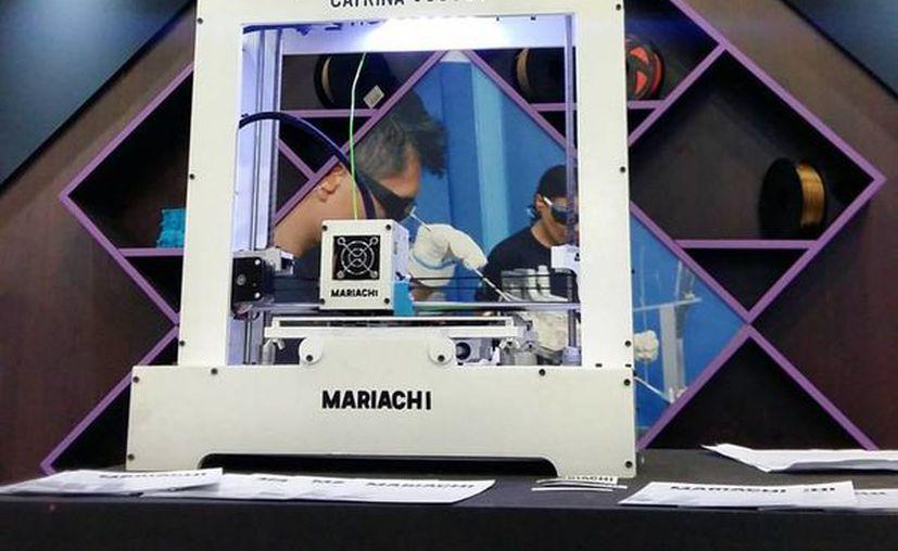 Recientemente 'Mariachi' se presentó en la  Semana Nacional del Emprendedor en la Ciudad de México. (Facebook)