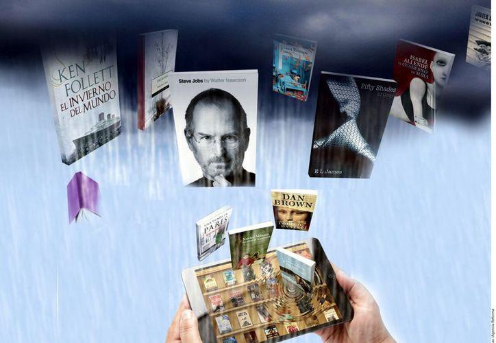 La fiebre de ebooks no sólo llegó a oídos de las tiendas, sino también a los altos rangos del círculo editorial mexicano. (Agencia Reforma)