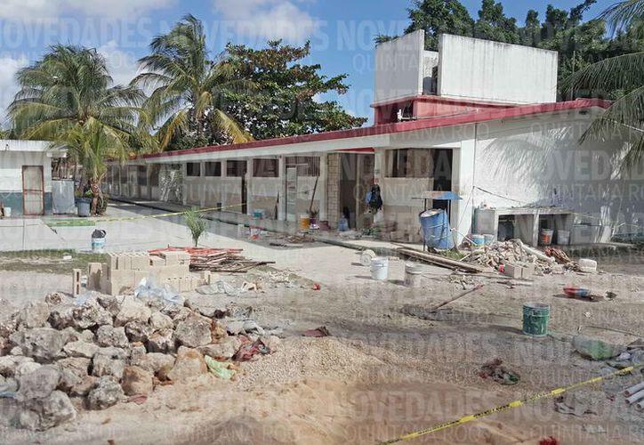 Quedaron inconclusos los proyectos en escuelas de Quintana Roo. (Jesús Tijerina/SIPSE)