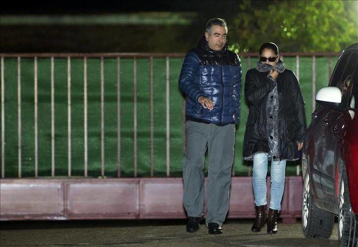 La cantante fue sentenciada a prisión debido a problemas de actividades sobre el lavado de dinero. Este martes se le concedió la libertad condicional.(EFE)