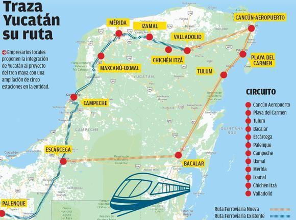 Tren Maya anunciado por AMLO costará más de 120 mil mdp