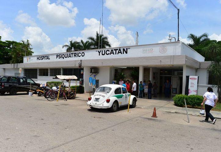 El Hospital Psiquiátrico Yucatán mejoró el área de paidopsiquiatría y rehabilitó la zona de juegos. (Luis Pérez/SIPSE)