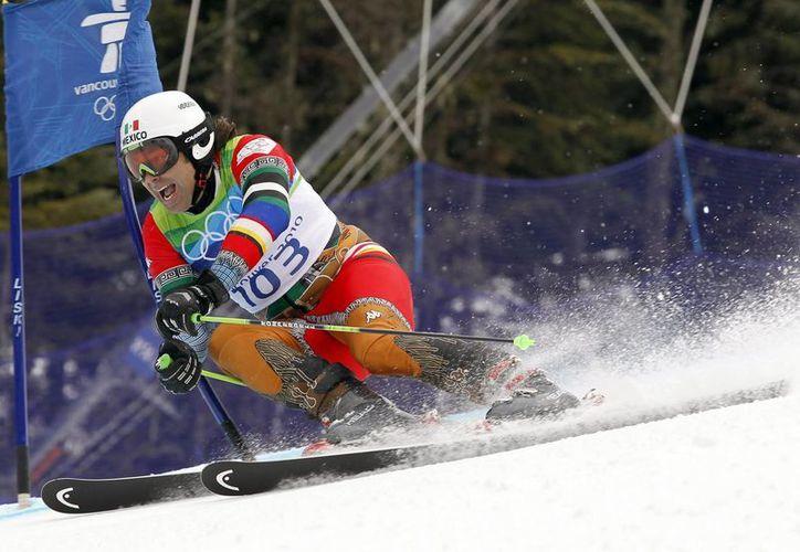 Hubertus von Hohenlohe es el único mexicano que competirá en los Juegos Olímpicos de Invierno en Sochi. Para los paralímpicos habrá varios mexicanos. (Agencias)