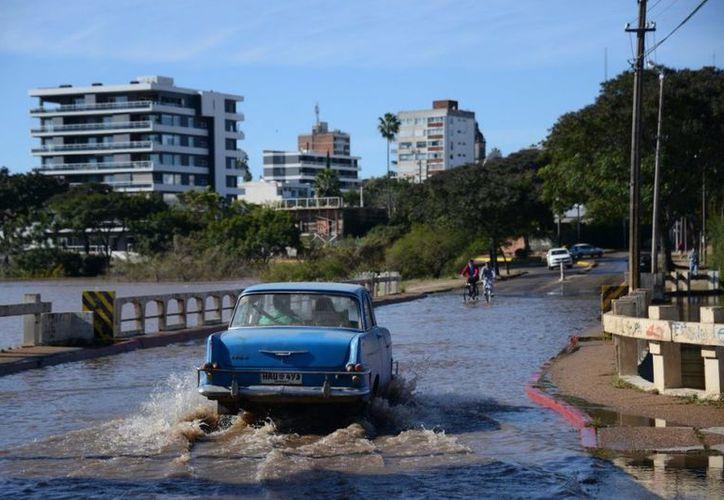 Otras ciudades afectadas por las lluvias son Paysandú y Bella Unión. (Diego Battiste).